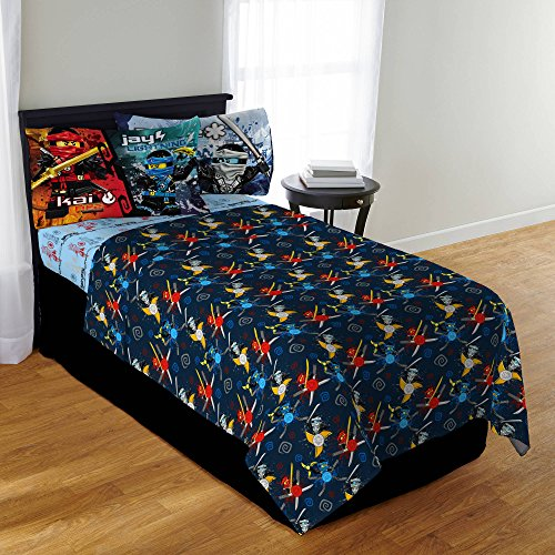 LEGO Ninjago Twin Bedding Sheet Set by LEGO