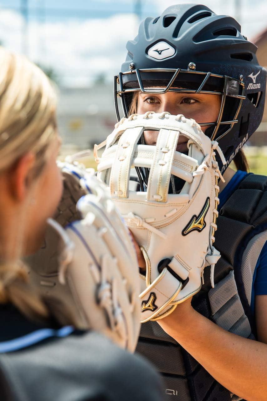 Mizuno Samurai Womens Fastpitch Softball Catchers Helmet Forest Size 6 1//2-7 1//4