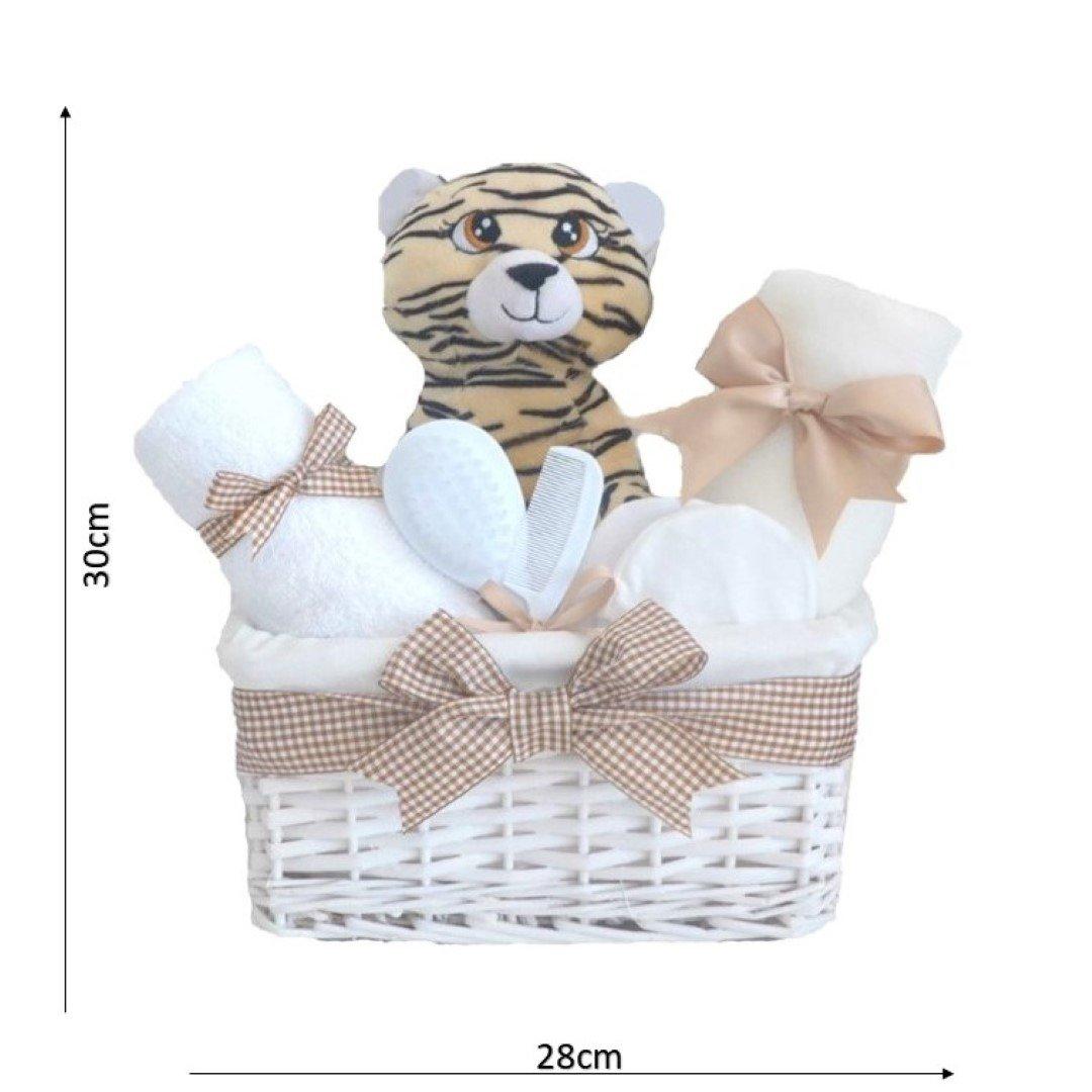 Mr Tiger - Cesta para bebé unisex, ideal como regalo para recién ...