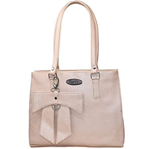 9b3ad34748e98 TYPIFY® Leatherette PU Handbag for Women and Girls College Office ...