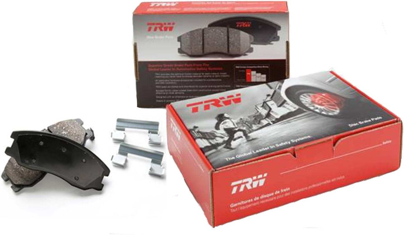 TRW Automotive TPC1124 Black Premium Disc Brake Pad Set