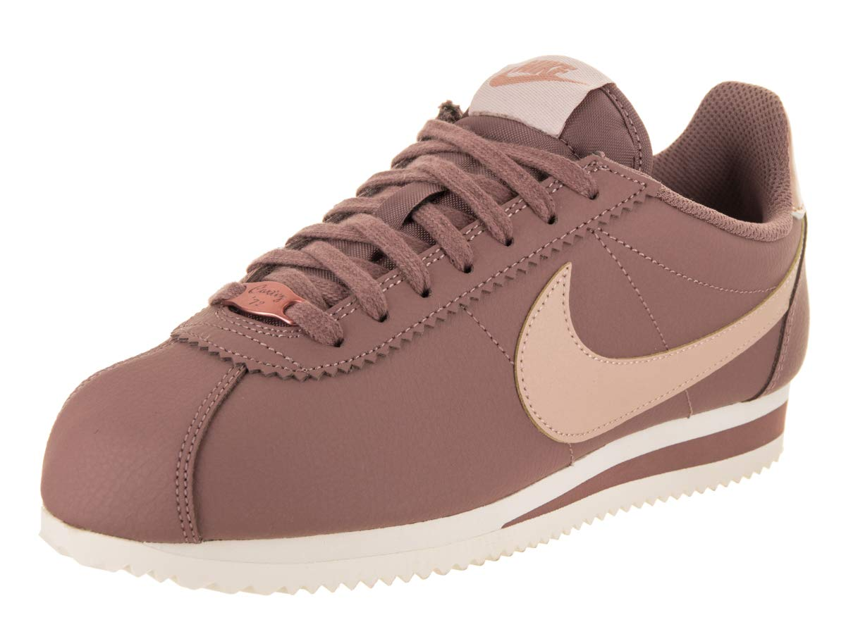 f0a850ddad6 Galleon - NIKE Women s Classic Cortez Leather Smokey Mauve Particle Beige  Casual Shoe 7.5 Women US