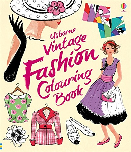 Vintage Fashion Colouring Book Books Amazoncouk Ruth Brocklehurst Antonia Miller 8601418386629