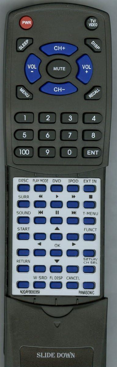 SAPT770 Replacement Remote Control for PANASONIC SAPT665 N2QAYB000359 SCPT673 SAPT670