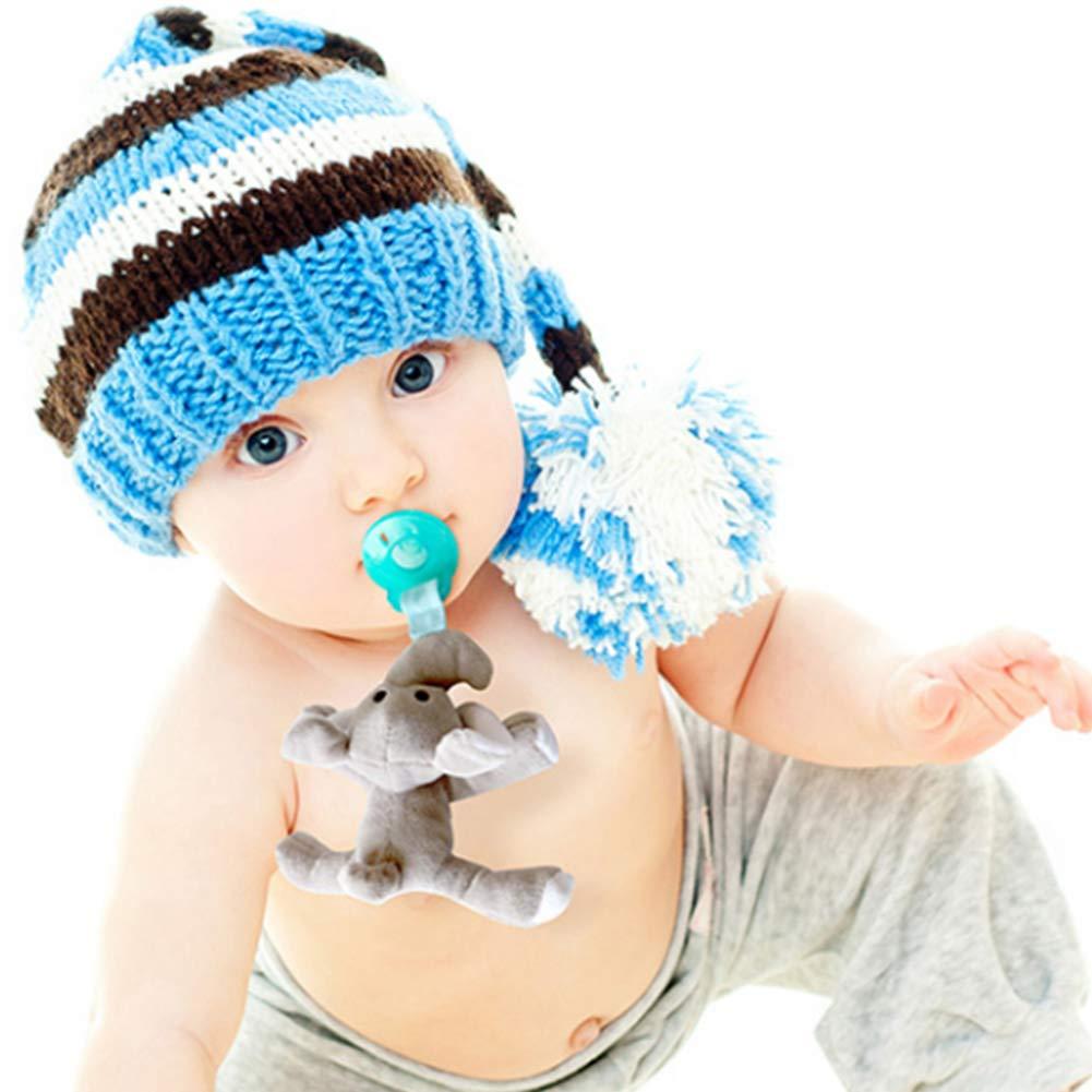 Brustwarze one size Bear Newin Star Schnullertuch f/ür Babys mit Brustwarzen Schnuller f/ür Neugeborene