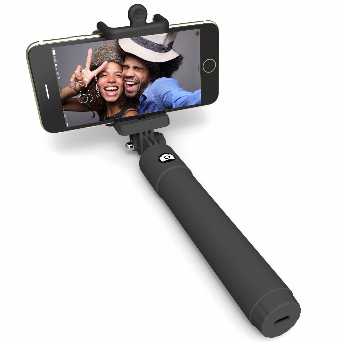 Perfectday Foldable Pocket Size Bluetooth Selfie Stick