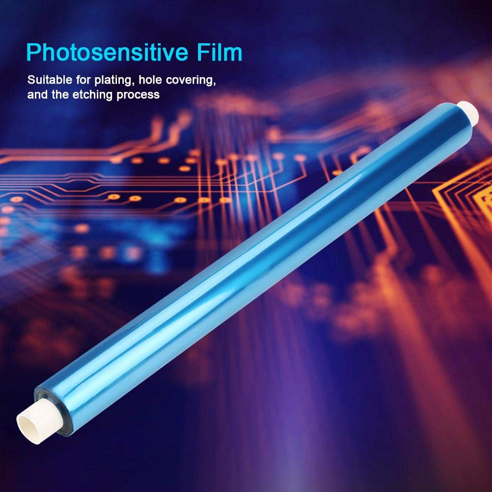 5/×0.3m Portable High Resolution Photosensitive Dry Film for PCB Circuit Production Photoresist Sheet