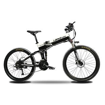 Extrbici bicicleta eléctrica XT750 MTB Bicicleta de montaña 17 x 26 pulgadas bicicleta plegable 500 W
