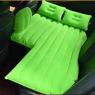 Voyage de voiture gonflable Matters Coussin de lit d'air Protection de l'enfance Coussin Siège SUV Berlines et Camions Camping, vert
