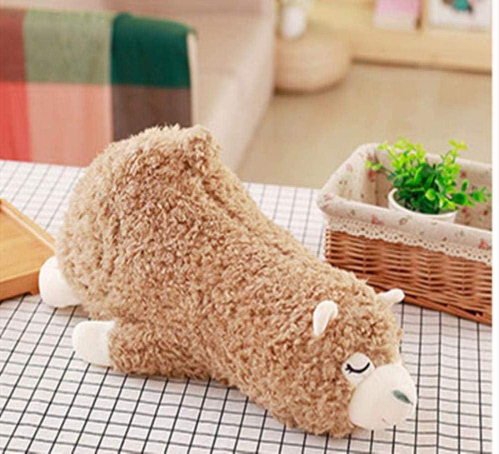 NC56 35cm muñeca de Alpaca de Peluche de Juguete Lindo Hierba Barro Caballo muñeca Almohada niño y niña Regalo de cumpleaños portátil