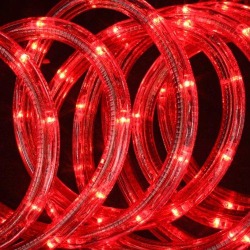 Leuchtröhre 24 m, Rot