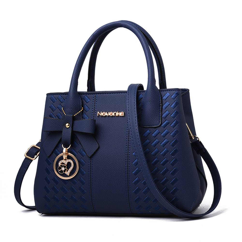 Handbags for Women Fashion Ladies Purses PU Leather Satchel Shoulder Tote Bags