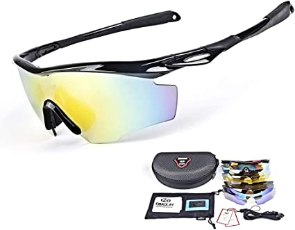 Men And Women PC Glasses UV400 TAC Lens HD Polarized Cycling Sport Sunglasses