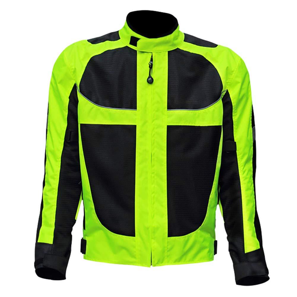 LUHHH Breathable Ineinander greifen Motorrad der Männer der Frau Jacke Moto Protektoren Jacke Reflektierende Bekleidung Motorrad-Jacken