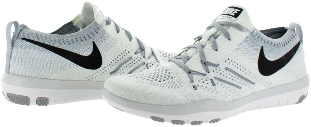 Nike Free Flyknit Focus Women's Training Shoes Sneakers White Size 7 by NIKE (Image #2)