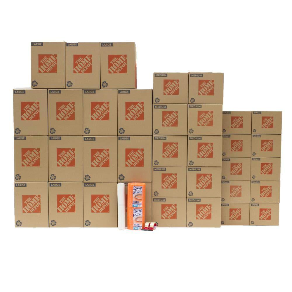 The Home Depot 35-Box Medium Moving Box Kit by dealmor (Image #1)