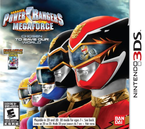 3ds games power rangers - 2
