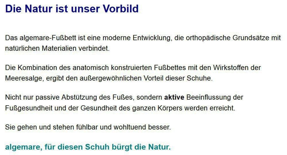 Algemare Damen Leder Pantolette 'Nubuk 2x Smoke' Keilpantolette mit 2x 'Nubuk Wechselfußbett Algen-Kork und Noppenersatzfußbett Made in Germany 5446_0804, Größe:36 - 7dc804