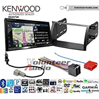 Volunteer Audio Kenwood DNX574S Double Din Radio Install Kit with GPS Navigation Apple CarPlay Android Auto Fits 2011-2013 Kia Sorento