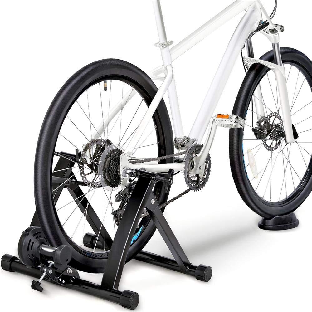 Topeakmart Premium Steel Bike Bicycle Indoor Exercise Trainer Stand Bike Trainer