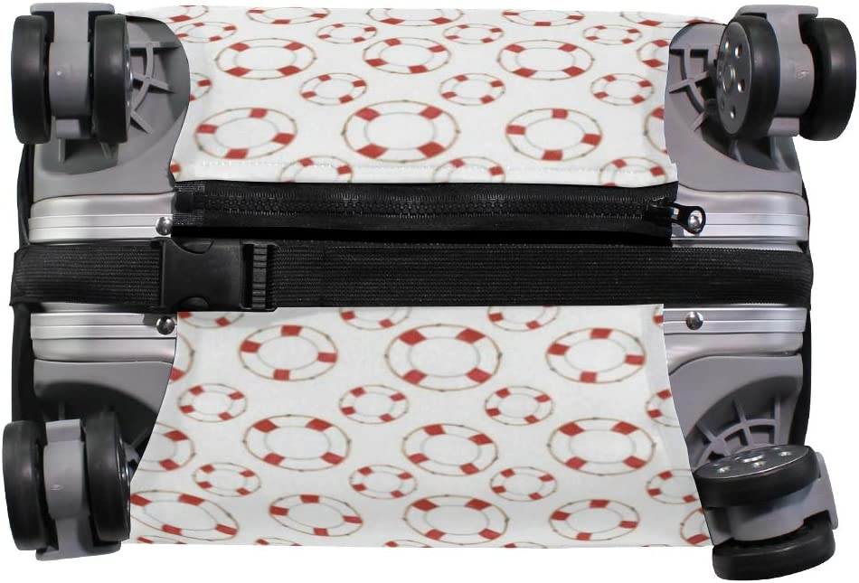 18//22//26//29 Inch Travel Suitcase Luggage Protective Cover with Sunglass Zebra Couple