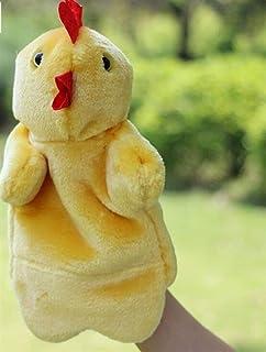 QINCH Home Burattini di Mano Giocattoli Morbidi Peluche Velour Animal Hand Puppets Guanto Raccontare storie Bambole Giocattoli