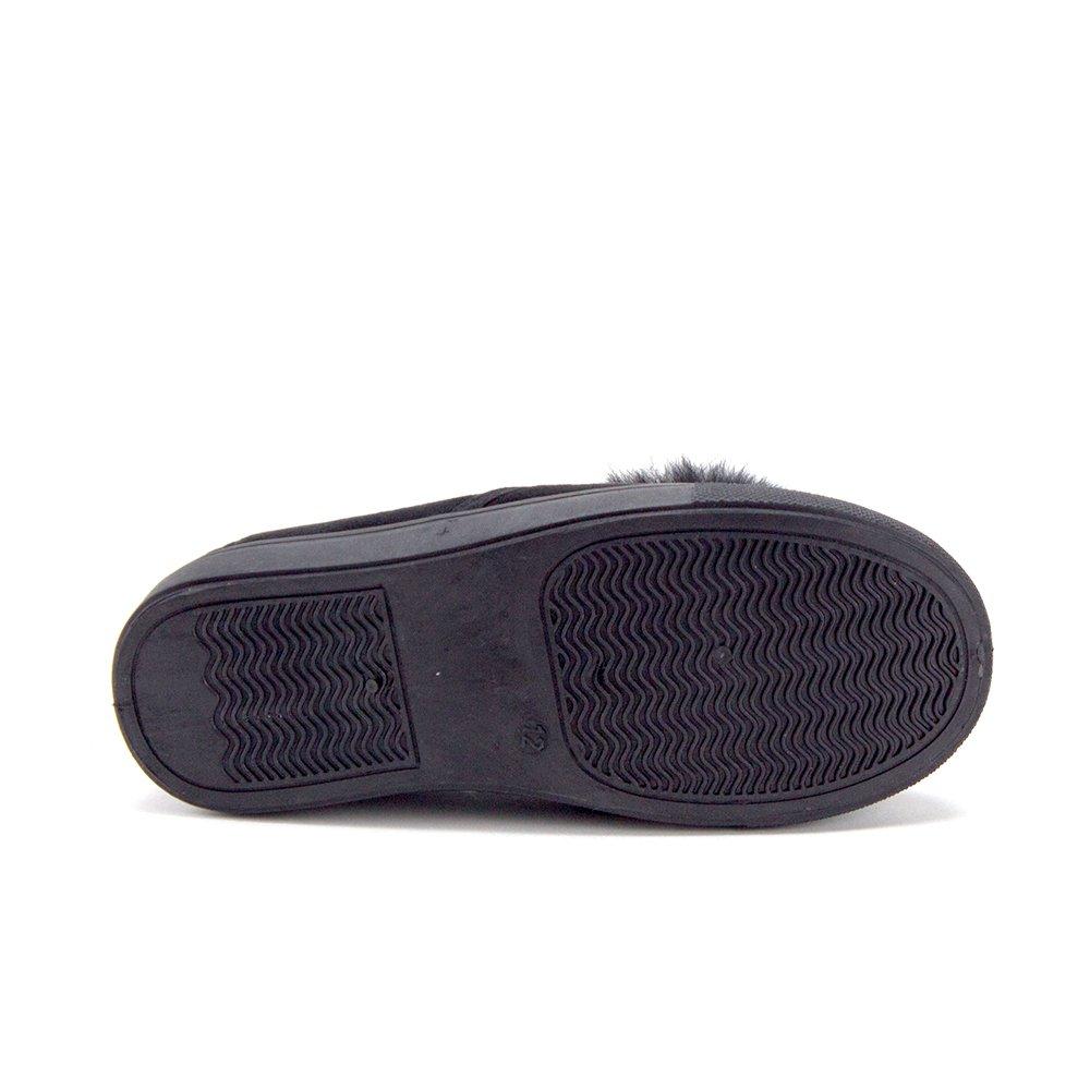Jaime Aldo Little Girls CAL-02K Low Top Slip On Pom Pom Sneakers Shoes