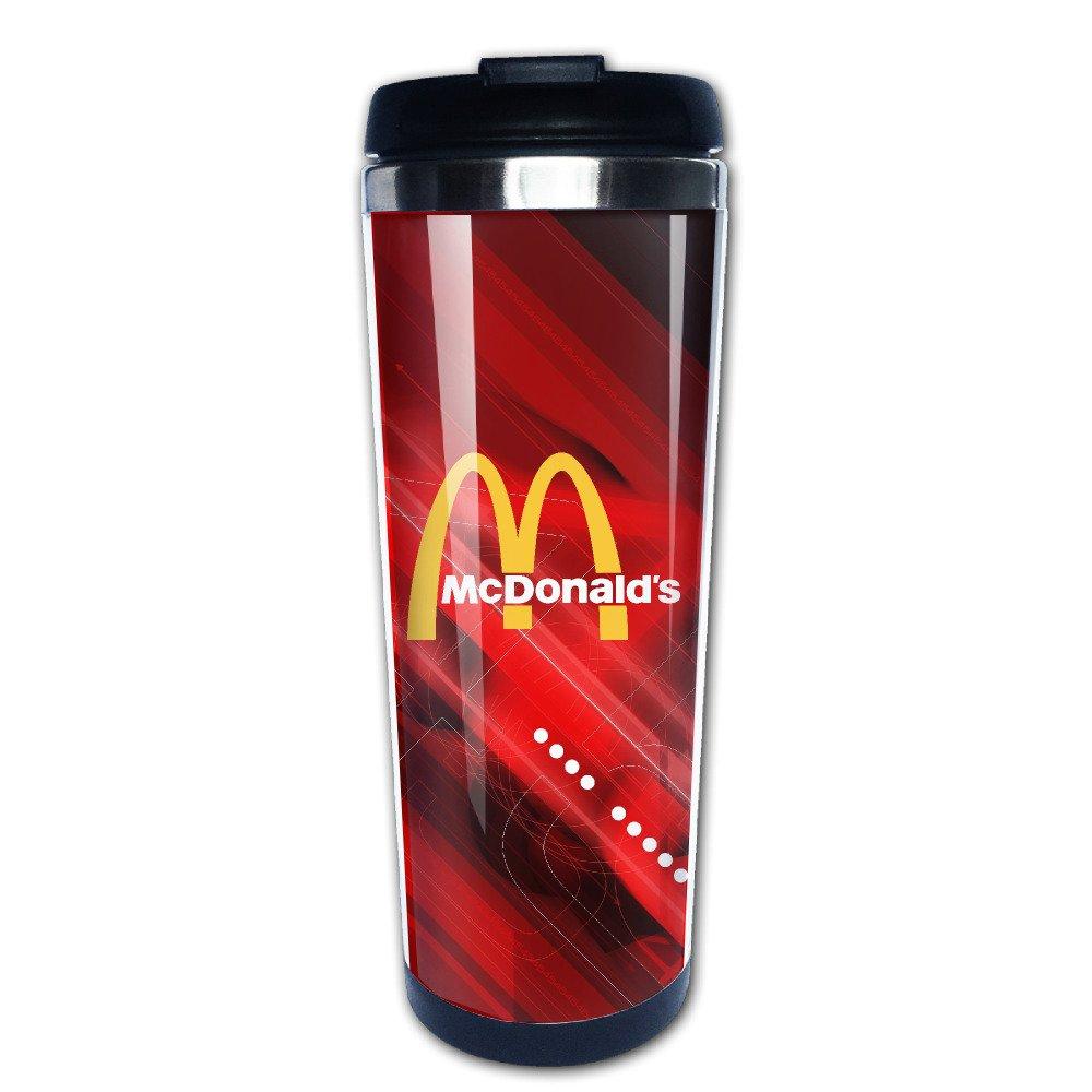 iayayo McDonalds 90S Edelstahl Tasse Kaffee Isolierflasche: Amazon ...