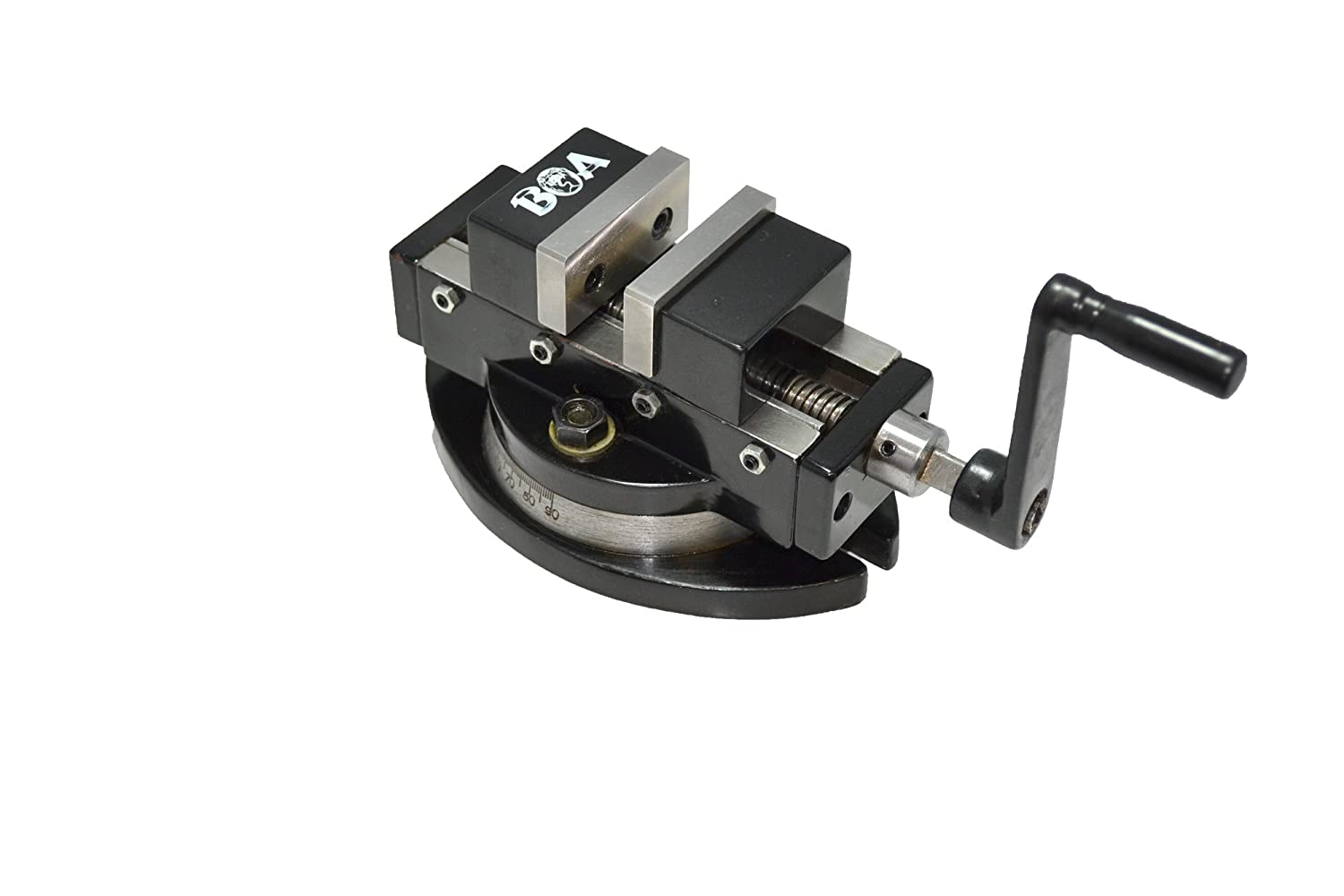 Image of Bench Vises Boa 110080 Precision Self Centering Vise with Swivel Base, 2 x 2