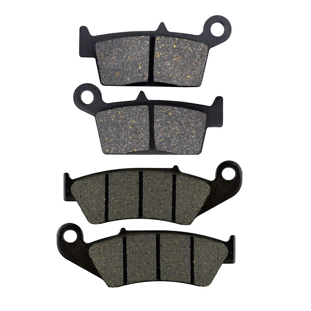 AHL 2 paires Plaquettes de frein kit pour kawasaki KX 125/K//L//M 1995-2005 kawasaki KX 250/K//L//M//R 1995-2007