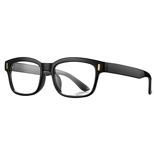a62f391820dab Pro Acme Unisex Stylish Square Non-prescription Glasses Clear Lens Eyewear  (Black)