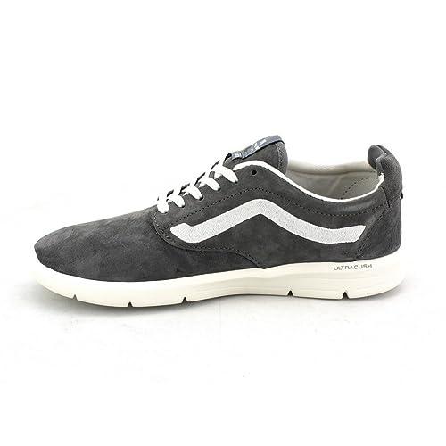 Zapatillas Vans - Iso 1.5 (Scotchgard) gris/gris/blanco talla: 35: Amazon.es: Zapatos y complementos