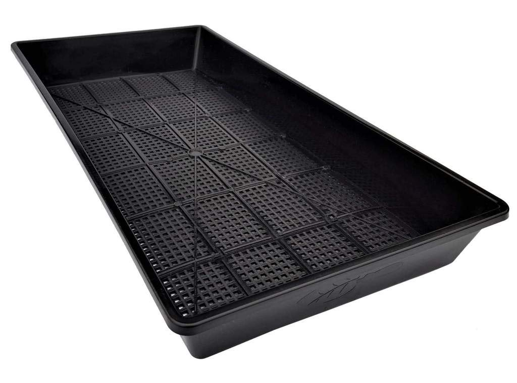 Mesh Bottom 1020 Trays - 10 Pack Extra Strength - for Microgreens, Soil Blocks, Wheatgrass, Hydroponic and Fodder Systems