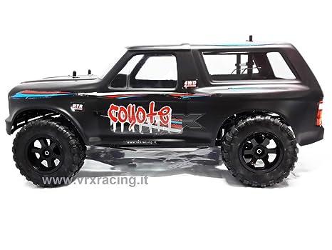 Coyote 1/10 SUV Off-road eléctrico 4 WD con doble marco de metal omocinetici de serie carrozzerie mate y piñón mecánica completa (sprovvisto de electrónica) ...