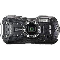 Ricoh WG-60 Fotoğraf Makinesi - Siyah Dijital Kompakt Fotoğraf Makinesi