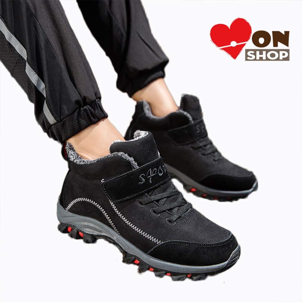 お気にいる [MonShop] [MonShop] 新しいブランドクッション冬スニーカー男性用暖かい毛皮ランニングシューズ男性雪のブーツスポーツマンの靴 B07MW7H5LY B07MW7H5LY Black sneaker winter sneaker 9.5 9.5|Black winter sneaker, オビラチョウ:fda6c4c4 --- adornedu.com