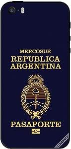 حافظة لجهاز ايفون SE - جواز سفر الأرجنتين