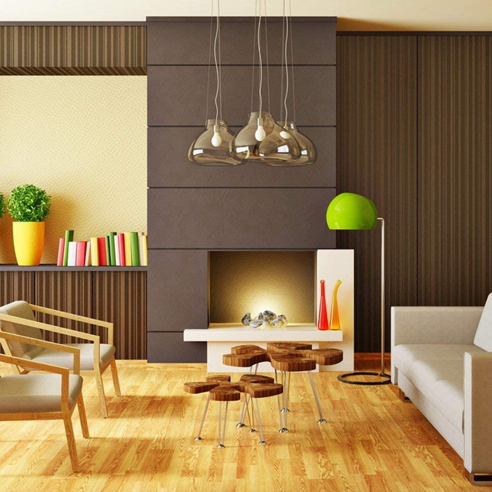 TECHLUX 9W LED Lights Bulbs A19 60 Watt Equivalent ,Energy Efficient,5000K Daylight,LED Lighting Reading//Work Lamp for Indoor Office Bedroom House,E26 Base,Pack of 6