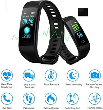 Accessories Sports & Outdoors Autoday Fitness Tracker Waterproof ...