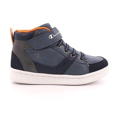 0d72d38c058 CHAMPION Scarpe Sneakers Tomboy Bambini Ragazzi Blu S31368-BS501   Amazon.fr  Chaussures et Sacs