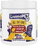 LIVANOPET 5-1 All-in-One Dog Soft Chew Vitamin Mineral Supplement, German Brand