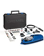 Dremel 4000 Rotary Tool 175 W, Rotary Multi Tool Kit with 4 Attachment 65 Accessories, Variable Speed 5000-35000 rpm for Cutting, Carving, Sanding, Drilling, Polishing, Routing, Sharpening, Grinding