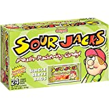 SOUR JACKS Sour Candies, Original, 24 - 2 Oz. Bags