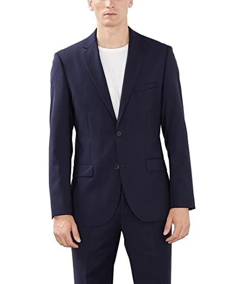 Collection 993eo2g902 Sleeve Men's Long Suit Esprit JacketAmazon OPiTkwZulX