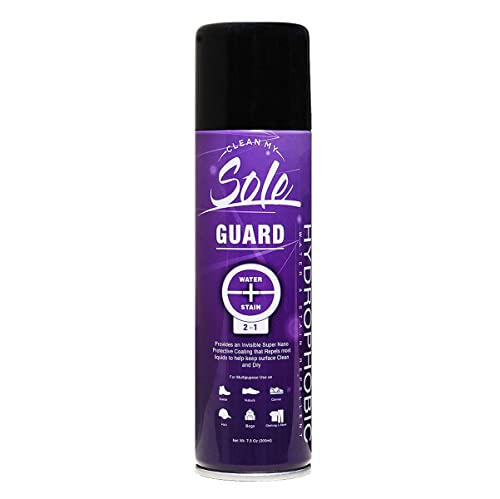 0cf89335e1130 Clean My Sole Guard Multi Purpose Hydrophobic Nano Water Rain and Stain  Repellent for Shoes Sneakers
