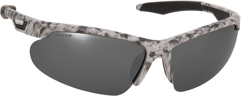 Cressi Speed Gafas de Sol, Camouflage/Lente Gris Oscuro, Talla Única