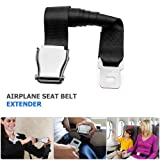 Adjustable Airplane Seat Belt Extender Seatbelt