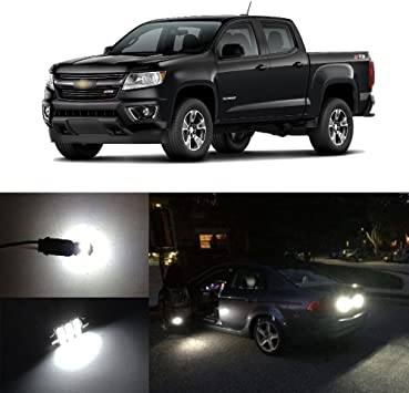 Reverse Light Package Kit for Chevy Colorado 2015-2020 2021 White LED Interior