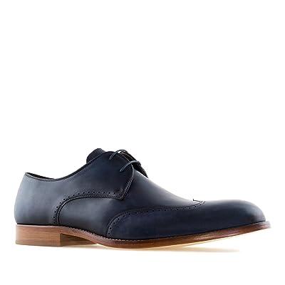 Andres Machado.6394.Chaussures Oxford en Cuir.Petites Pointures pour Homme du 37 au 40.Grandes Pointures.46/50.Made in Spain