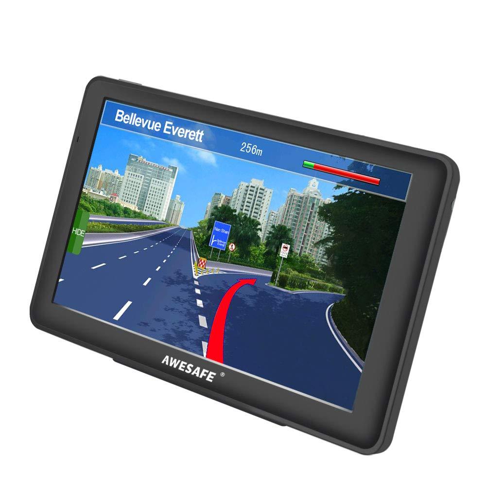 GPS Voiture avec écran Tactile cartographie de système de Navigation Automatique de 7 Pouces Europe 52 Pays Gratuit Multi-Langue intégré de 8 Go Support SD Carte product image